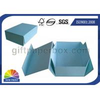 Buy cheap Logo Printed Custom Cardboard Paper Collapsible Box for Clothing Garment Apparel from wholesalers