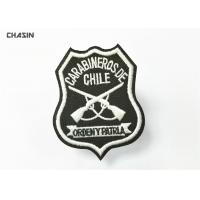 Buy cheap Green Twill Military Embroidered Patches With Merrowed Border , Stitch Border from wholesalers
