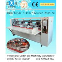 Buy cheap Precision Folding Corrugated Carton Packaging Machinery , Corrugating Machine from wholesalers