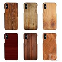 Buy cheap Customized Wood Printed Cell Phone Covers For IPhone X , 3D Sublimation Blank Phone Case from wholesalers