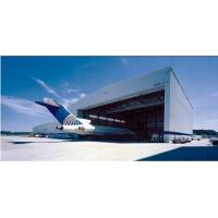 Buy cheap Aircraft Hangar Single Storey Steel Buildings High Rise Environmental Protection from wholesalers