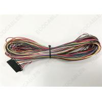 Buy cheap Red Electrical Wire Harness For Aid Vehicles Taximeter With Samtec ISSM-10 from wholesalers