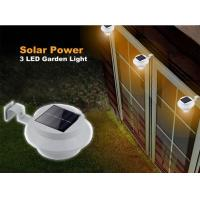 China Solar Gutter Lights / Solar Powered Outdoor Lights Sealed Without Electrolyte Leakage on sale