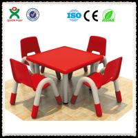 Buy cheap Preschool Furniture Used Plastic Tables and Chairs for Kids QX-193D from wholesalers