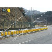 Buy cheap ISO 9001 Class with Pu Foam Foller Of Yellow Road Crash Barrier 350*500MM from wholesalers
