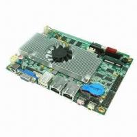 Buy cheap 3.5-inch Industrial Motherboard, Onboard Intel Atom D525 CPU, 6 COM Ports, Supports VGA/LVDS/Wi-Fi from wholesalers