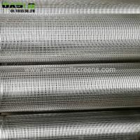 China Welded type wedge wire screen China supplier of Johnson screens on sale