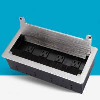Buy cheap American Standard Cable Cubby Box / Countertop Socket Line Brush Multimedia Information Box from wholesalers