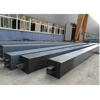 Buy cheap Building Construction Material Structural Steel /  Box Steel Column Beams Fabrication from wholesalers