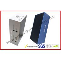 Buy cheap Cardboard Electronic Packaging Rigid Gift Boxes with Silver Printing from wholesalers