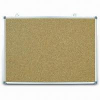 Wholesale Aluminum Frame Cork Board, Other Sizes are Available from china suppliers
