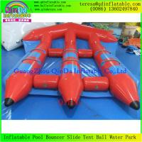 Wholesale Top Quality Water Sled  Fly Fish Boat  Adult Sports Game Flying Boat Tubes Surfing from china suppliers