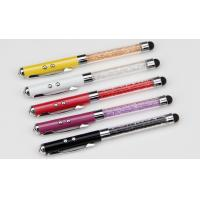 Buy cheap 2014 Hot! Crystal pens - metal ball pen -touch screen pen-laser point from wholesalers