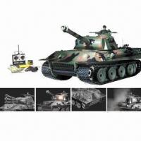 Buy cheap German Panther Tank with Remote Control and Smoke RTR Airsoft Tank from wholesalers
