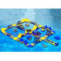 40 x 40 m 0.9mm PVC Huge Floating Inflatable Water Park for Water Sports