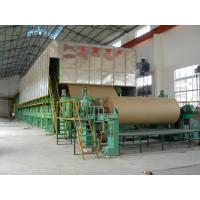 Buy cheap Paper making machinery, 2400mm corrugated paper machine from wholesalers