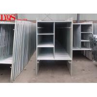 Buy cheap High Strength 3' × 6'4 A Frame Scaffold Structural Steel Tubing ISO / SGS Approved from wholesalers