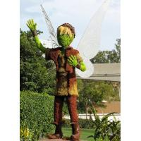 Wholesale Fancy Fairy Tale Figure Sculpture Love God Cupid Topiary Artificial Fairy Plants Sculpture from china suppliers