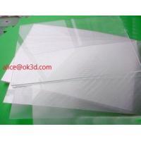 Buy cheap The most thinnest PET lenticular sheet len 51x71cm, 0.35mm 3D Lenticular film product