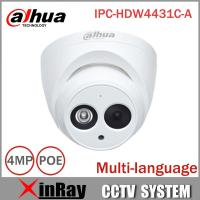 Buy cheap DaHua IP Camera IPC-HDW4431C-A POE Network Mini Dome Camera With Built-in Micro Full HD 1080P 4MP CCTV Camera from wholesalers