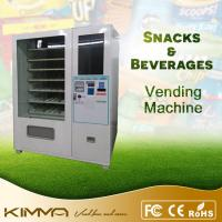 Fruit bar, frozen food, drinks combo vending machine with Nayax system Manufactures