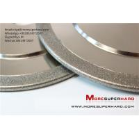 Buy cheap Electroplated diamond grinding wheel for non-ferrous industry application miya@moresuperhard.com from wholesalers