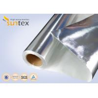 Buy cheap Fire Resistant Aluminum Foil Fiberglass Cloth With Good Hermetic And Weather Resistance from wholesalers