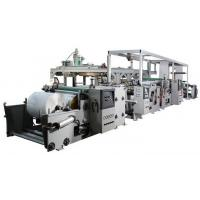 Buy cheap Automatic PP / LDPE Extrusion Film Coating Machine Fast Working Speed from wholesalers