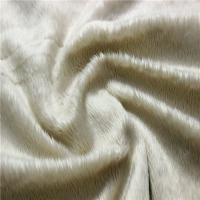 Buy cheap cheap minky fabric velboa fabric pajama micro short pile plush from wholesalers