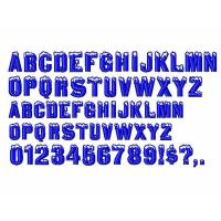 Wholesale Custom Embroidery fonts Igloo Laser96 design DST Formats from china suppliers