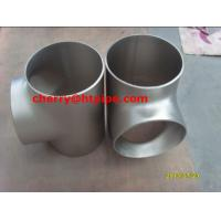 Buy cheap ASTM B363 Grade 7 Titanium Alloy  reducing tee from wholesalers