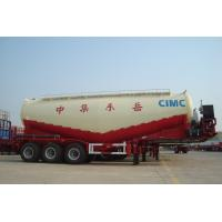 Buy cheap Hot Sale CIMC 3 Axle Bulk Powder Cement Transportation Tanker Trailer with Cheap Price from wholesalers