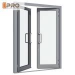 Buy cheap Aluminium Double Glazed French Doors , Soundproof French Hinged Doors STEEL DOOR HINGE swing door hinge DOOR CONCEAL from wholesalers