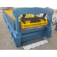 1000mm Width Long Span Metal Roof Roll Forming Machine with Heat Treatment ISO Manufactures