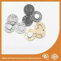 Wholesale Fashion Garment Accessories lap Invisible Buttons , Eco Friendly Sewing Buttons from china suppliers