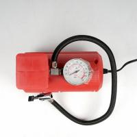 China Red Vehicle Air Compressors Mini Air Pump Dc 12v 10ft Cord For Car  Bicycle on sale