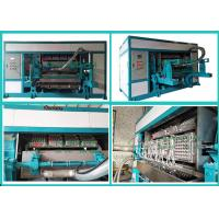 Buy cheap Waste Paper Pulp Molding Euipment Rotary Egg Tray / Egg Box Machine from wholesalers