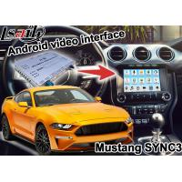 Buy cheap Mustang SYNC 3 Android GPS navigation box WIFI BT Google apps video interface wireless carplay from wholesalers