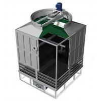 Buy cheap CTI certificate FRP cross flow type small mini water treatment cooling tower low price from wholesalers