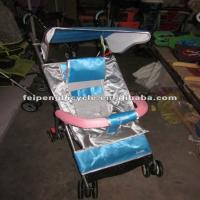 Wholesale cheap aluminum baby stroller with adjustable backrest from china suppliers