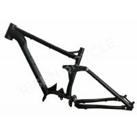 Buy cheap 1000w Full Suspension Ebike Frame Bafang G510 Mid-Drive Electric Bike from wholesalers