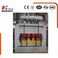Laminated Wood Hydraulic Hot Press For Plywood Veneer , Hot Press Plywood Machine