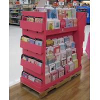 Buy cheap Floor Stand Pop Cardboard Magazine Display , PDQ Displays from wholesalers