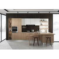 Buy cheap Unique E1 Grade Particle Board Kitchen Cabinets With Melamine Faced Board 100 Colors from wholesalers