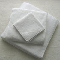 pure white plain hotel towel Manufactures