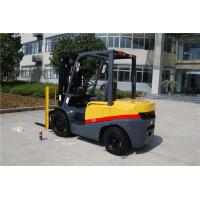 Buy cheap Black Yellow 3.5 Ton Diesel Operated Forklift Warehouse Handing Equipment from wholesalers