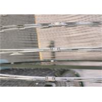 China Longlife Concertina Razor Wire Fittings With Clips For Razor Barbed Wire on sale