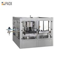 Buy cheap Chemical OPP Bottle Sticker Labeling Machine Small Glue Consumption from wholesalers