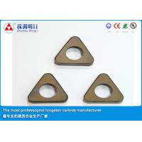 Buy cheap P20 P30 Cemented Carbide Inserts shim , Cutting Tool Inserts from wholesalers