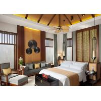 China Country Luxury Hotel Room Furniture  with Natural Wood / Rattan Finished on sale